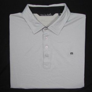 TRAVIS MATHEW ~ Pima Cotton Blend Polo Golf Shirt